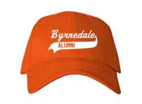 Byrnedale Junior High School Embroidered Baseball Caps