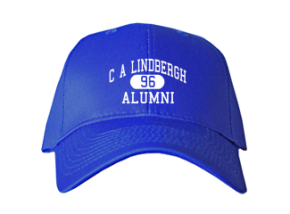 C A Lindbergh Elementary School Embroidered Baseball Caps