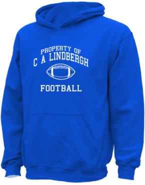C A Lindbergh Elementary School Kid Hooded Sweatshirts