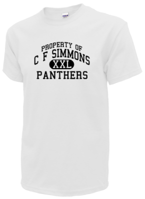 C F Simmons Middle School T-Shirts