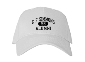 C F Simmons Middle School Embroidered Baseball Caps