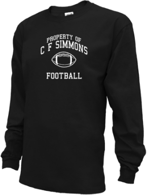 C F Simmons Middle School Kid Long Sleeve Shirts