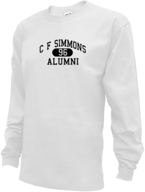 C F Simmons Middle School Long Sleeve Shirts