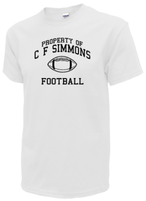 C F Simmons Middle School Kid T-Shirts