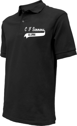 C F Simmons Middle School Embroidered Polo Shirts