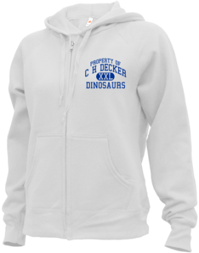 C H Decker Elementary School Zip-up Hoodies