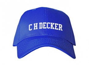 C H Decker Elementary School Kid Embroidered Baseball Caps