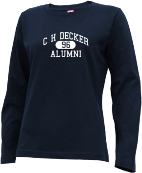 C H Decker Elementary School Long Sleeve Shirts