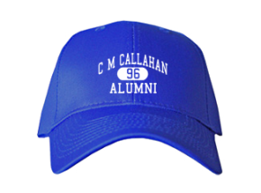 C M Callahan Elementary School Embroidered Baseball Caps