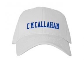 C M Callahan Elementary School Kid Embroidered Baseball Caps
