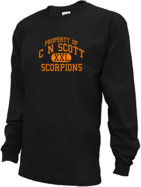 C N Scott Middle School Kid Long Sleeve Shirts