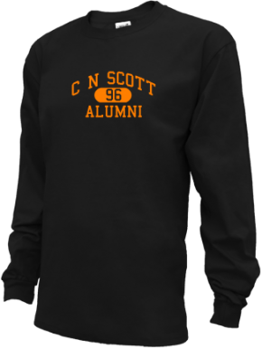 C N Scott Middle School Long Sleeve Shirts