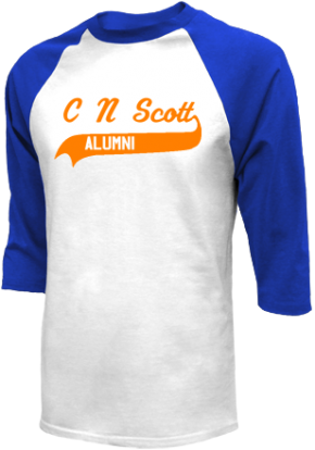C N Scott Middle School Raglan Shirts