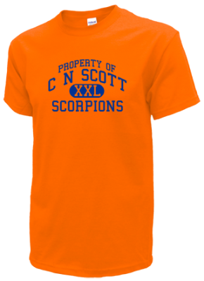 C N Scott Middle School Kid T-Shirts