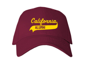 California Elementary Middle School Embroidered Baseball Caps