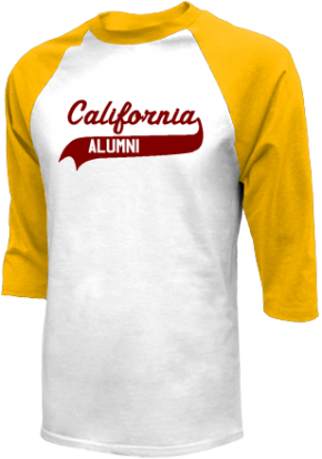 California Elementary Middle School Raglan Shirts