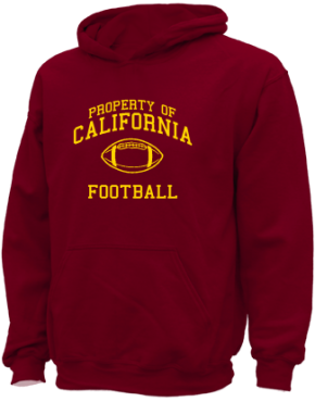 California Elementary Middle School Kid Hooded Sweatshirts