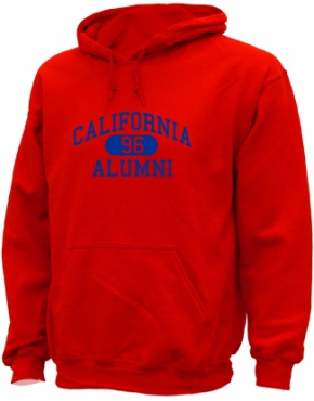 California High School Hoodies