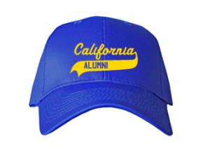 California Middle School Embroidered Baseball Caps