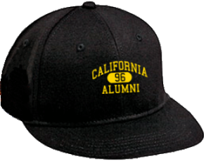 California Middle School Flat Visor Caps