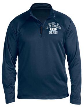Calvin Donaldson Elementary School Stretch Tech-Shell Compass Quarter Zip