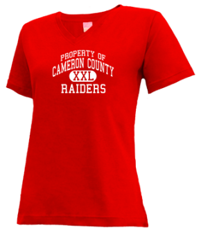 Cameron County High School V-neck Shirts