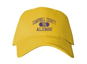 Campbell County High School Embroidered Baseball Caps