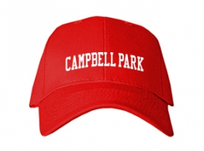 Campbell Park Elementary School Kid Embroidered Baseball Caps