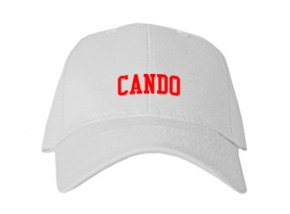 Cando High School Kid Embroidered Baseball Caps