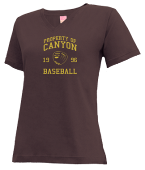 Canyon High School V-neck Shirts