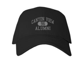 Canyon View High School Embroidered Baseball Caps