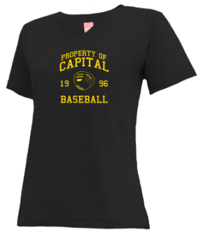 Capital High School V-neck Shirts