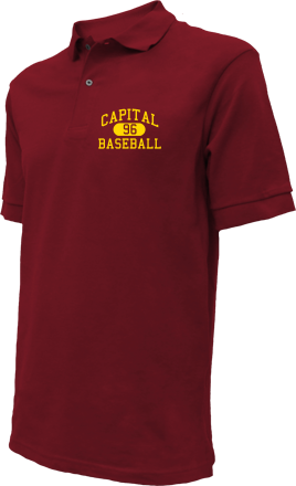 Capital High School Embroidered Polo Shirts