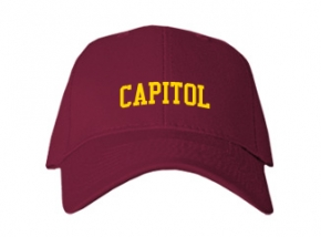 Capitol High School Kid Embroidered Baseball Caps