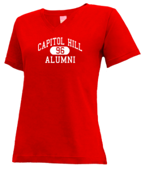 Capitol Hill High School V-neck Shirts