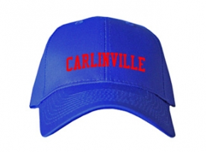 Carlinville High School Kid Embroidered Baseball Caps