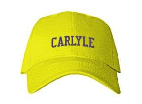 Carlyle Junior High School Kid Embroidered Baseball Caps