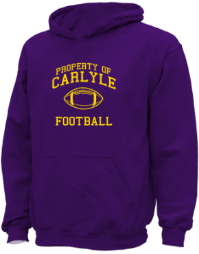 Carlyle Junior High School Kid Hooded Sweatshirts