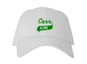 Carr Elementary School Embroidered Baseball Caps