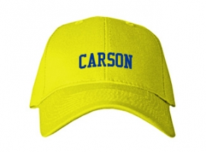 Carson School Kid Embroidered Baseball Caps