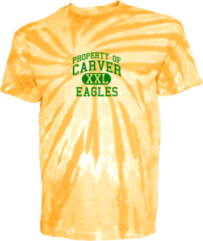 Carver Middle School Kid Tie-dye T-Shirts