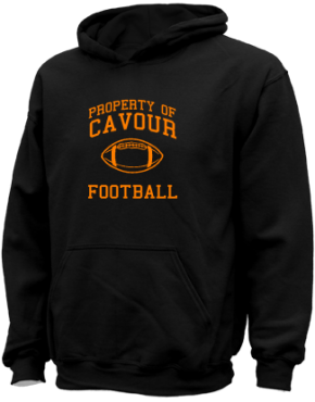 Cavour Elementary School Kid Hooded Sweatshirts