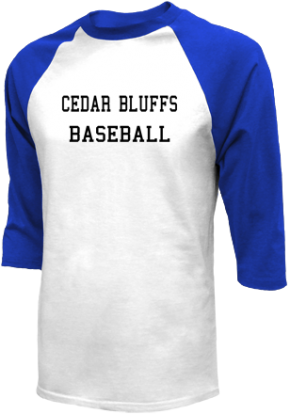 Cedar Bluffs High School Raglan Shirts