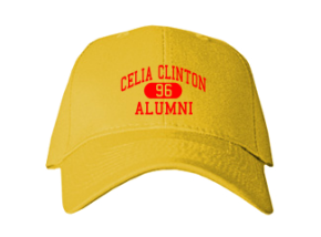 Celia Clinton Elementary School Embroidered Baseball Caps
