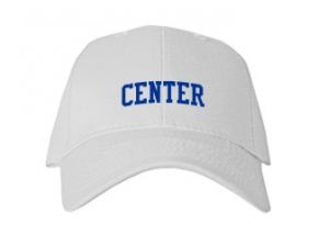 Center High School Kid Embroidered Baseball Caps