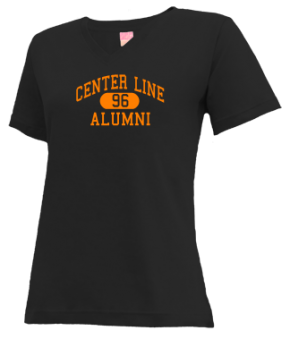 Center Line High School V-neck Shirts