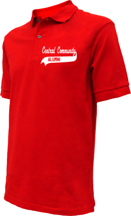 Central Community School Embroidered Polo Shirts