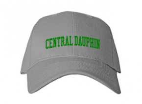 Central Dauphin High School Kid Embroidered Baseball Caps