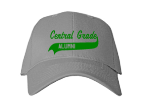 Central Grade School Embroidered Baseball Caps