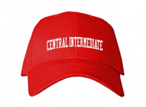 Central Intermediate School Kid Embroidered Baseball Caps